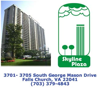 Falls Church VA Condominiums - Skyline Plaza.